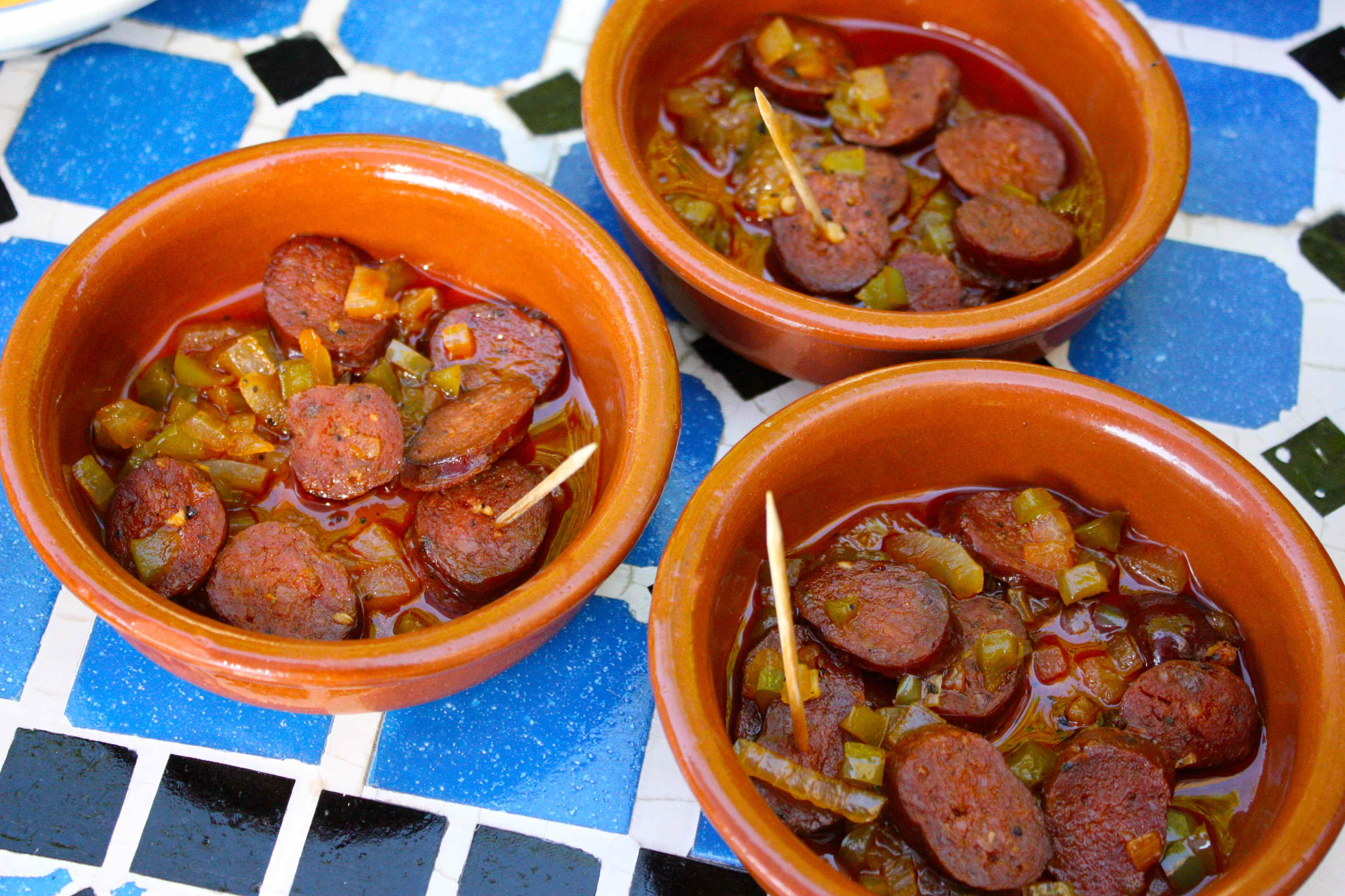how to know when chorizo is cooked