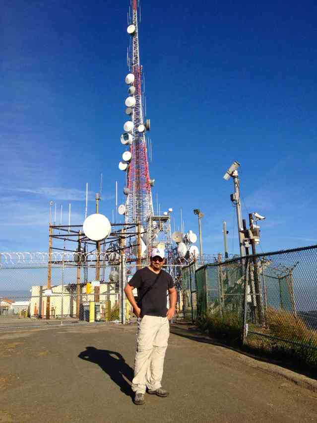 Hollywood radio tower