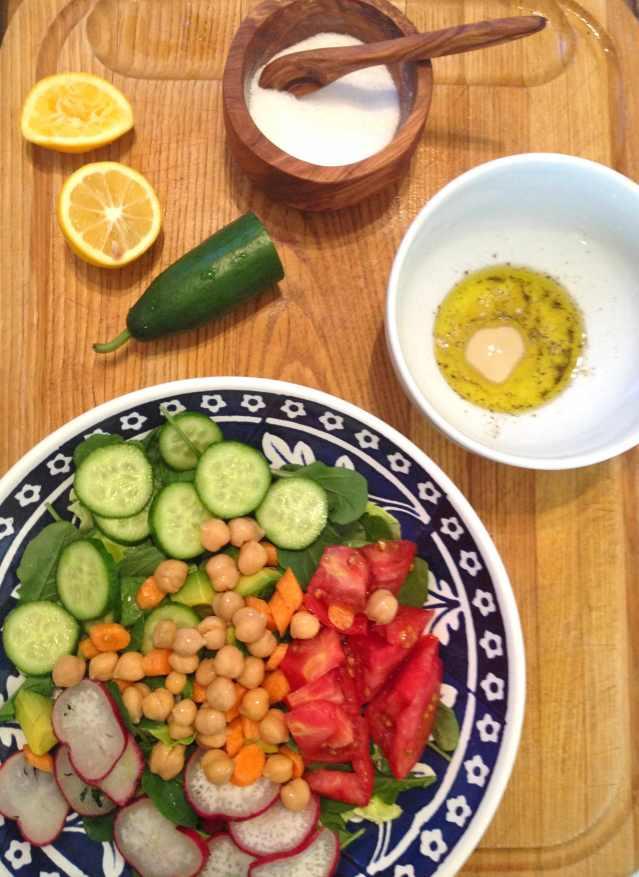 Happy salad 2